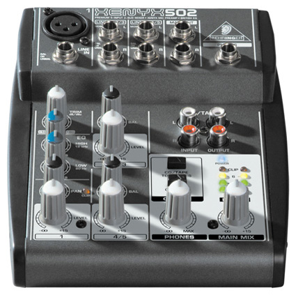 The Obfuscation of Electronics: The Behringer Xenyx 502