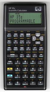 What is old is new: RPN on the HP 35s Scientific Calculator